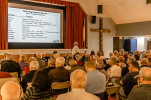 Presentation of TVCUC information